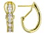 Moissanite Fire® 1.60ct DEW Round 14k Yellow Gold Over Sterling Silver Earrings