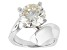 Moissanite Ring Platineve™ 4.75ct DEW