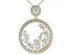 Moissanite 14k Yellow Gold Over Silver Pendant 3.24ctw DEW