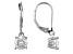 Moissanite Platineve Dangle Earrings 1.60ctw DEW