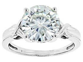 Moissanite Ring Platineve 3.60ct