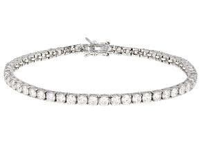 Moissanite Bracelet Platineve™ 8.64ctw DEW