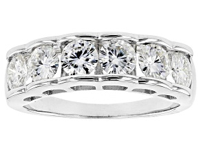 Moissanite Platineve Ring 1.98ctw DEW