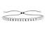 Moissanite Ajustable Bracelet Platineve™ 2.88ctw DEW