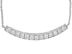 Moissanite Necklace Platineve™ 1.69ctw DEW