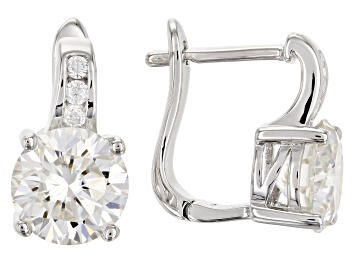 Picture of Moissanite Earrings Platineve 3.92ctw DEW