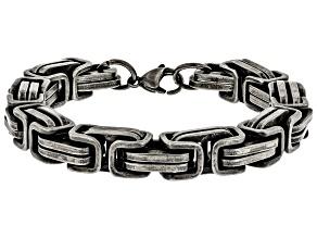 Braid Link Stainless Steel Bracelet