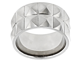 Stainless Steel Band Ring