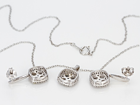 Monture Diamond Collection™ Silver Jewelry Set .75ctw