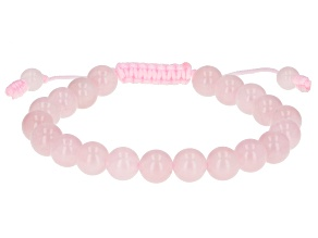 Pink Quartz Adjustable Bracelet