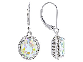 Mercury Mist® Mystic Topaz® Sterling Silver Dangle Earrings 6.51ctw