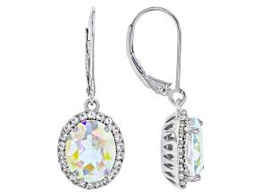 Mercury Mist® Mystic Topaz® Sterling Silver Dangle Earrings 6.51ctw