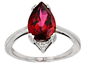 Red Peony™ Mystic Topaz® Sterling Silver Ring 3.37ctw