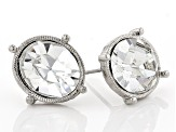 Swarovski Crystal Elements™ Silver-Tone Stud Earrings