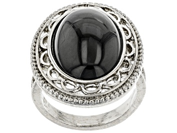 Picture of Crystal Silver-Tone Ring