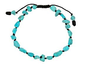 Blue Turquoise Bolo Bracelet