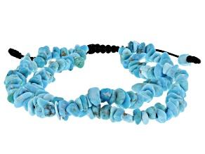 Blue Sleeping Beauty Turquoise Bolo Bracelet