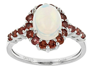 Ethiopian Opal Sterling Silver Ring 1.80ctw