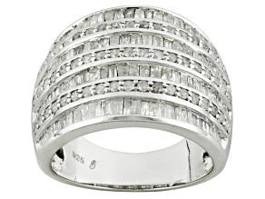 Diamond Sterling Silver Ring 2.00ctw