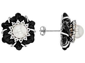 Black Onyx Sterling Sterling Earrings