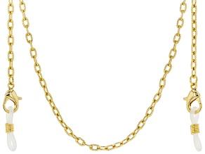 Gold Tone Mask Chain