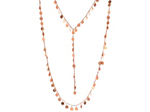 Rose Tone Layered Necklace