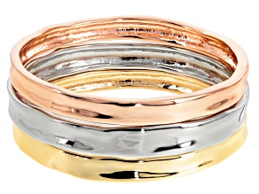 Off Park ® Collection Three Tone Bangle Set Of 3