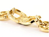 Multicolor Crystal Gold Tone Statement Bracelet