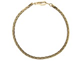 Gold Tone Chain and Bracelet Set of 14