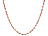 Rose Tone Chain and Bracelet Set of 14