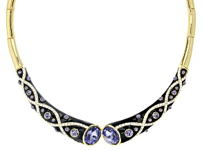 Swarovski Elements™ Gold Tone Collar Necklace