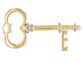 Gold Tone Hands Free Door Opener Key