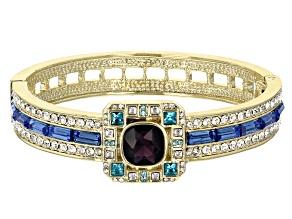 Gold Tone Crystal Bracelet