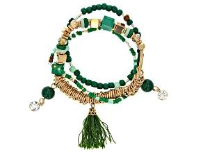 Multi-color Children's Stretch Bracelet Set Of 3