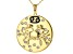 "Swarovski Elements ™ Gold Tone ""Cancer"" Necklace"