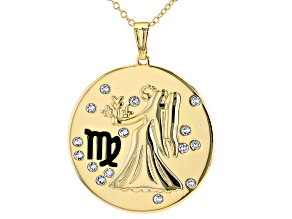 "Swarovski Elements ™ Gold Tone ""Virgo"" Necklace"