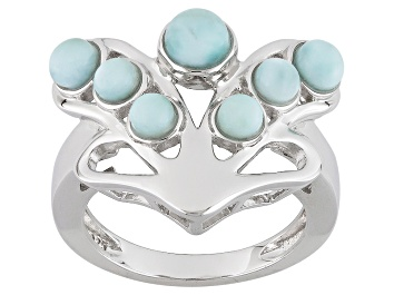 Picture of Blue Larimar Sterling Silver Ring