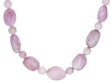 Purple Kunzite Sterling Silver Necklace