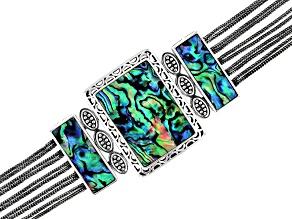 Abalone Shell Sterling silver Bracelet
