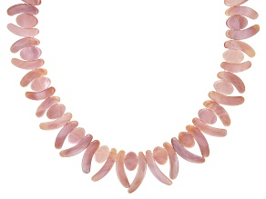 Mother-of Pearl Sterling Silver Collar Necklace