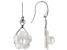 Mother-Of-Pearl Sterling Silver Flower Earrings