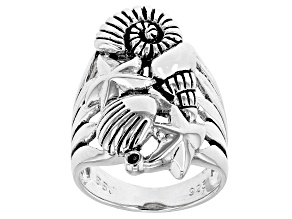 Sterling Silver Nautical Motif Ring