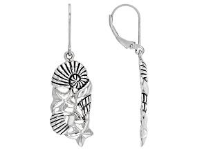 Sterling Silver Nautical Motif Earrings
