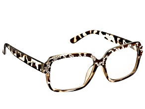 Pre-Owned Swarovski Elements ™ Crystal Leopard Reading Glasses 2.50 Strength