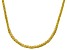 Pre-Owned Bella Luce® 20.02ctw Yellow Diamond Simulant 18k Gold Over Silver Necklace