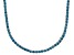 Pre-Owned Bella Luce® 20.02ctw Round Apatite Simulant Rhodium Over Silver Tennis Necklace