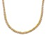 Pre-Owned Bella Luce® 20.02ctw Round Diamond Simulant 18k Gold Over Silver Necklace