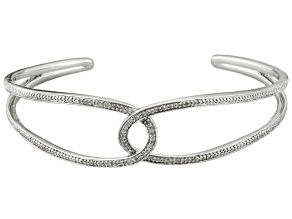 Diamond Sterling Silver Bracelet .20ctw