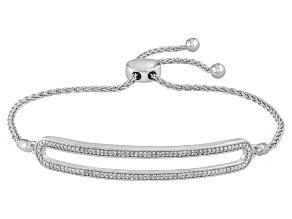 Diamond Sterling Silver Bracelet .15ctw