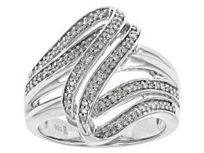 Diamond Sterling Silver Ring .25ctw